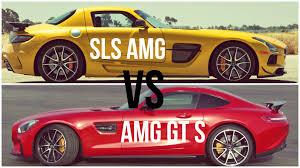 mercedes sls amg gt 2016 mercedes amg gt s vs mercedes sls amg black series