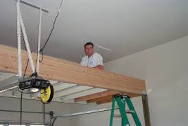 building a loft in garage how to build a storage loft in a garage home design ideas and