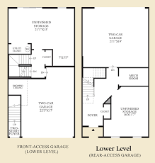 luxury townhome floor plans ravenscliff at media townhomes the bethesda home design