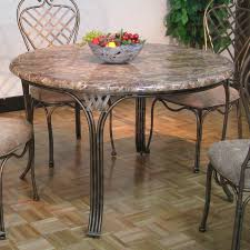 sunset trading 2 piece accentage allegra stone top dining table