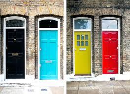 front door superb trendy front door color ideas funky front door