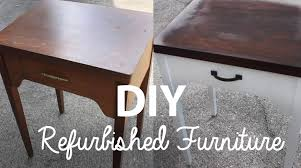 Refurbished End Tables by Diy Refurbished Furniture Youtube