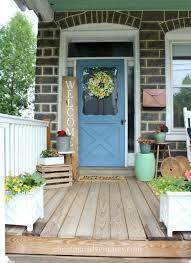 house with a porch summer porch decorating 2017 christinas adventures