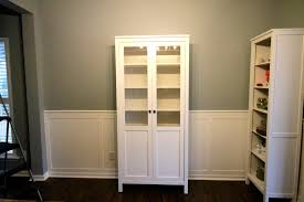 Bookcase With Doors White by Ikea White Bookcase With Glass Doors Images Glass Door Interior
