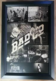 Bad Company Band Framed Bad Company Poster Autographed Columbia Frame Shop