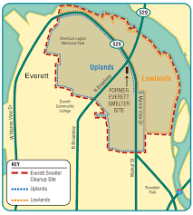 Evcc Campus Map Everett Smelter Cleanup Cleanup Sites Washington Department Of