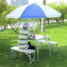 step 2 folding picnic table umbrella picnic table styledbyjames co
