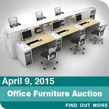 OnlineOnly Office Furniture Auction  Bankruptcy Liquidation - Office furniture auction