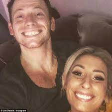 Stacey Meme - fans go wild over stacey solomon and joe swash s selfies daily