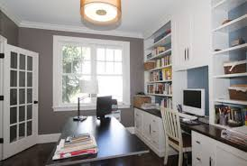 Home Office Built In Furniture Office Built In Traditional Home Office Boston By Hawthorn