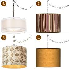 Plug In Crystal Chandelier Plug In Swag Ceiling Light And Ideas Chandelier With Delightful
