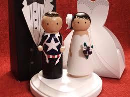 bride groom wedding cake topper