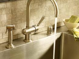 custom cut stainless steel backsplash beautiful kitchen backsplashes traditional home