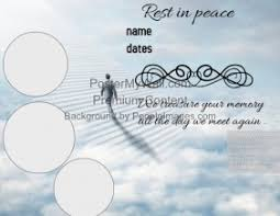 funeral invitation template customizable design templates for funeral postermywall