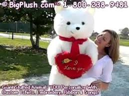big valentines day teddy bears teddy i you heart for valentines day or