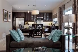 Kitchen Open To Dining Room by Kitchen Family Room Designs Trendy View Full Size Beautiful Light