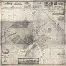 New Orleans City Map by Architecture Research New Orleans 1834
