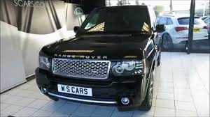 land rover rear land rover range rover autobiography black edition rear