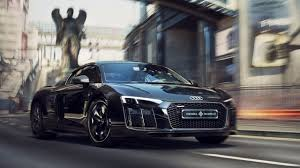 Audi R8 Top Speed - one of a kind final fantasy xv themed audi r8 comes in just under