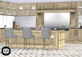 how to make a corner kitchen cabinet sims 4 juglans kitchen sims 4 custom content wondymoon