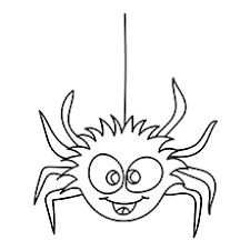 10 free printable spider coloring pages