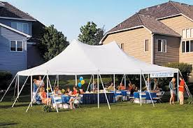 tent rental michigan party time rentals carleton michigan tents rental mi