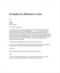 Reference Letter letter or reference besik eighty3 co