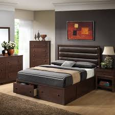 Platform Bed With Headboard Bedroom Furnitures Bedroom Outstanding Design Of Brown Area Rug