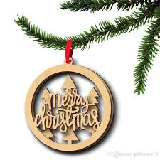 wood ornament wooden laser cutouts bird tree merry
