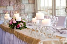 candle runners table stylist courthouse restaurant