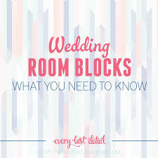 wedding room blocks wedding room blocks what you need to every last detail