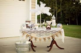 used wedding supplies kara s party ideas vintage backyard wedding table party planning