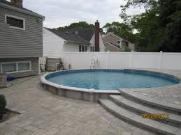 40 uniquely awesome above ground pools with decks ground pools