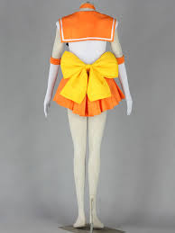 sailor moon sailor venus minako aino fighting uniform cosplay