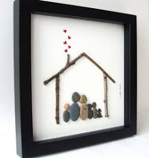 christmas gift for family original family gift pebble art gift
