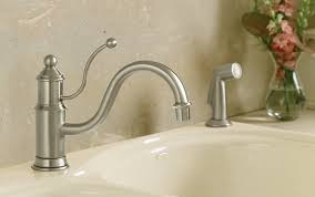 Kohler Brass Kitchen Faucets by Kohler K 169 Bn Antique Single Control Kitchen Sink Faucet
