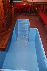 baptistry pools providence baptist chapel blunham history