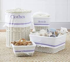 Pottery Barn Baskets With Liners 62 Best White Baskets Images On Pinterest Large White Wicker