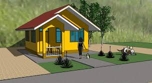 low cost house sketchup 3d cad model grabcad