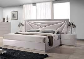 modern headboard designs for beds lacquered leather modern platform bed with extra storage