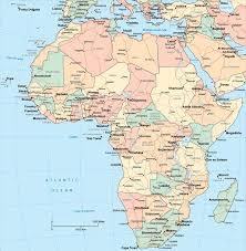 africa map map the 25 best countries map ideas on africa map