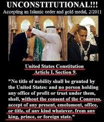 No Trust Meme - meme says barack obama s acceptance of an islamic order and gold