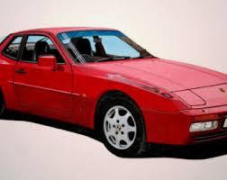 porsche 944 model kit porsche 944 etsy