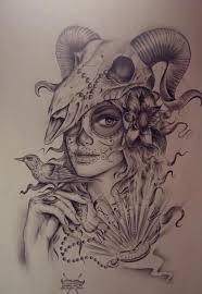 something beautiful sugar skulls sugaring and tattoo