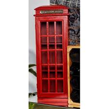 Phone Booth Bookcase Trent Austin Design Montana Metro Wood 1 Accent Cabinet U0026 Reviews