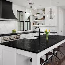 black kitchen cabinets with marble countertops giani belgotta black marble countertop paint kit