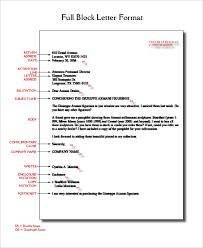 block format business letter 28 images block letter format