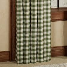 Black Check Curtains Curtain Black Buffalo Check Curtains With Curtains For