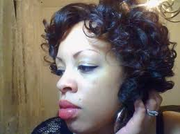 roller wrap hairstyle roller set on natural hair 4a curly hairstyle youtube
