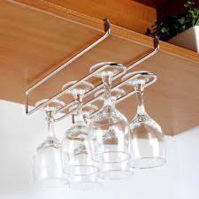 Wine Glass Holder Under Cabinet Stainless Steel Under Counter Wine Racks Ebay